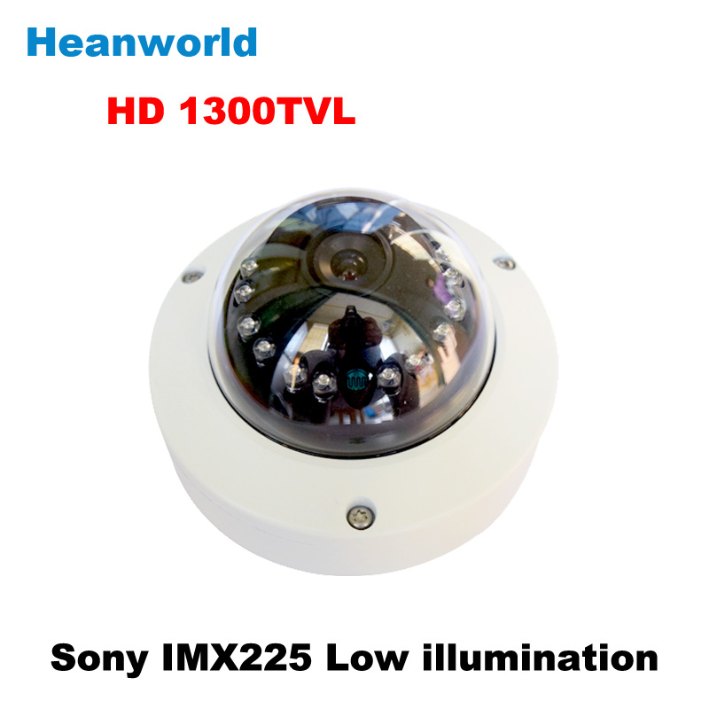 Heanworld sony 1300TVL dome camera CMOS Color outdoor security camera CCTV Camera waterproof  camera with IR-CUT Free Shipping<br>