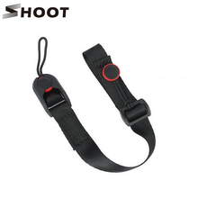 SHOOT Quick Release Leash Cuff Hand Strap Sling with Buckle for Nikon Sony Canon Digital Gopro 4 3+ Session SJCAM SJ4000 Camera