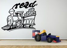 HWHD Wall Room Decor Art Vinyl Sticker Mural Decal Train Read Motivation Kids free shipping