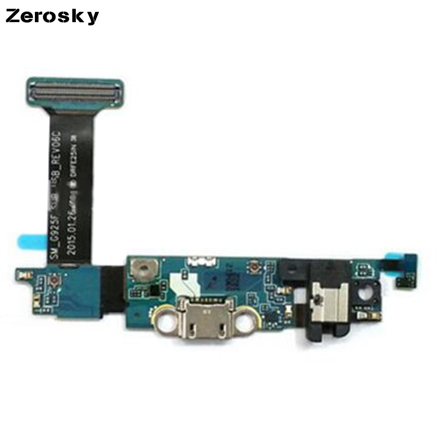 New Arrival Usb Charger Charging Port Flex Cable Dock Connector For Samsung Galaxy S6 Edge USB Chargering Board