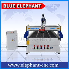 Plastic/Wood/ MDF/Plexiglas/Organic/Acrylic 1325 Wood Tree Cutting Machine with Water Cooling Spindle