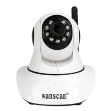 Wanscam 1080P Full HD 2.0 Megapixel WiFi Wireless IP Camera PTZ PanTilt Zoom Security Two-way Audio Baby Monitor TF SD Card Slot(China)