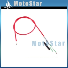 1070mm Red Clutch Cable For Chinese Pit Motor Dirt Bike Lifan SSR Thumpstar Coolster Baja XR50 CRF50 CRF70 Lifan Kayo Motorcycle