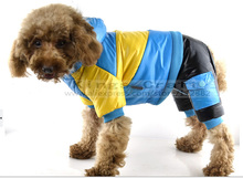 2014 NEW!  Pet Dog Winter Warm Clothes, Dog Cat Waterproof Short Velvet  Coat Winter Jumpsuits