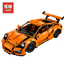 Lepin 20001 Technic Series 911 Race Car Set DIY Model Building Kits Blocks Bricks Children Toys Christmas Birthday Gift lepin
