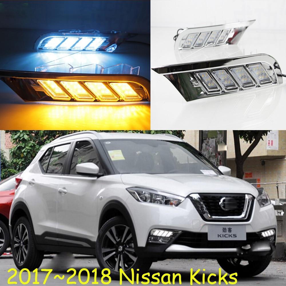 2017~2018 Kicks daytime light,Free ship!LED,Kicks fog light;Qashqai,Micra,Titan,versa,stanza,sentra,Tsuru,stagea,Rogue,Kicks<br>