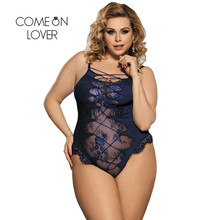 Buy Comeonlover Langerie Women Sexy Lace Lingerie Plus Size Teddies Sexy Costumes Langerie Sexy Erotic Porn Adult Sex Teddy RI80327