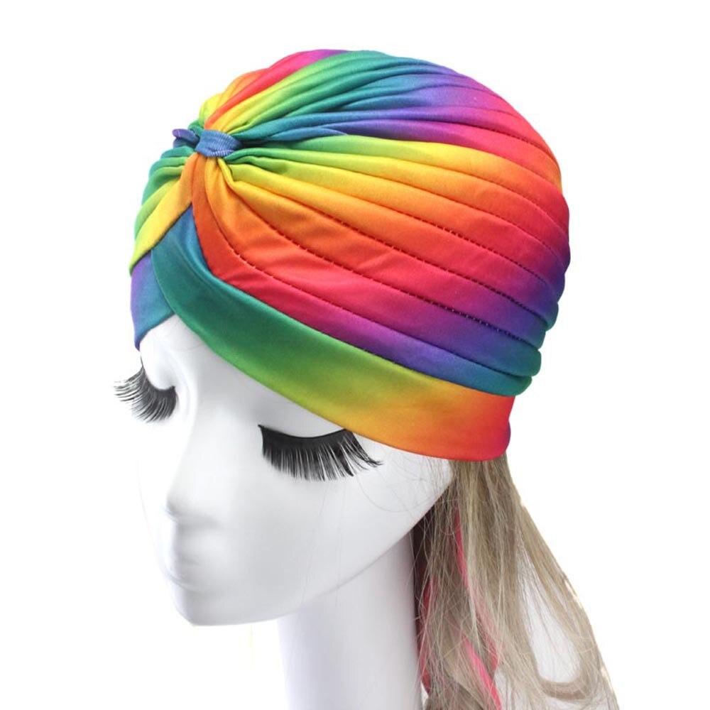 Women  2016 New fashionable 4 Colors Female soft Polyester India Hat Yoga Hedging Fold Scarf Hat G31012 female hatÎäåæäà è àêñåññóàðû<br><br><br>Aliexpress