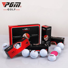 PGM Genuine Golf Boxed Matching Ball 3 Layers Ball Out Special Practice Ball One Box 12 Three Tournament Ball Professional(China)