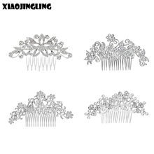 Buy XIAOJINGLING Hair Accessories Women Pearl Flower Hairband Wedding Bride Tiaras Crown Length Headband Hair pin Hair Jewelry for $1.12 in AliExpress store