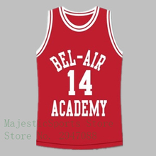 Will Smith Bel-Air Academy #14 Red Pink Coffee Basketball Jersey BA021(China)
