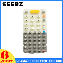 SEEBZ 10 pcs/lot Compatible New 48 Keys Rubber Keypad For Motorola Symbol MC3000 MC3070 MC3090(China)