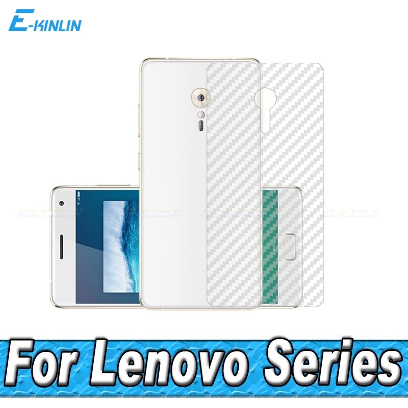 3D Carbon Fiber Rear Screen Protector Lenovo ZUK Edge Z2 Pro Plus Back Cover Protective Guard Film (Not Tempered Glass)