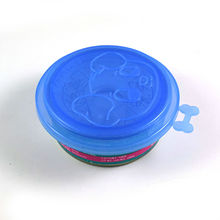 10pcs/Three layer can cover Pet Food utensils dog bowl lid plastic tableware food cover Pet supplies