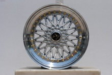 "19"" SILVER/SILVER RS STYLE RIMS 19X8.5 WHEELS FITS BENZ JDM HONDA W881(China)"