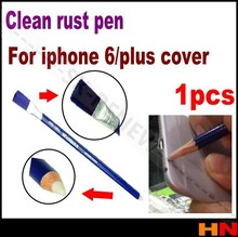 1pcs For iphone 6 and plus back cover rust pen Glue broom brush mastic pen maintenance to rust circuit board cleaning pen(China)