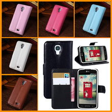 1 pcs PU Leather  Protector Case For LG F70 D315 Luxury Unique design with Card & Credit holder Book Style Moblie phone Cover