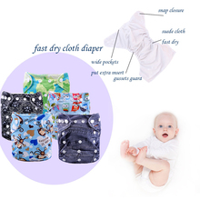 best cloth diapers cloth nappies reviews cloth diapering washing baby nappies(5 sets)