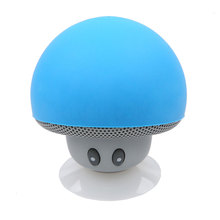 2017 hot Portable Mushroom Speaker Stereo Music Player Mini Wireless Bluetooth Speaker for Xiaomi For iPhone phone