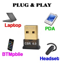 kebidumei USB Bluetooth Adapter V 4.0 Dual Mode Wireless Bluetooth Dongle CSR 4.0 USB 2.0 3.0 For Laptop Mobile phone Printer
