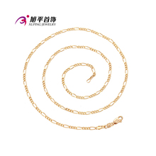 Xuping Fashion Necklace Popular Style Gold Color Plated Necklace For Women Men Long Necklace Jewelry Cheap Promotion 42517