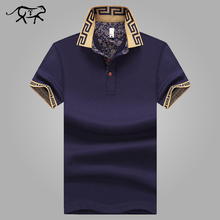 Men's Polo Shirt Style Summer Fashion Men Lapel Polo Shirts Cotton Slim Fit Polos Top Casual Camisas Masculinas Plus Size M-5XL(China)