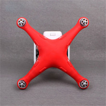 Hot New Silicone Protective Body Fuselage Case Skin Cover Wrap For DJI Phantom 3 Advanced Professional