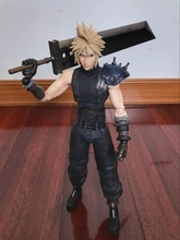 free shipping final fantasy cloud action figures(China)