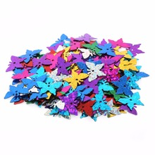 New Arrivals Mixed Color different size Loose Sequin for Clothing Accssory DIY Craft For Scrapbooking Wedding(China)