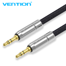 Vention Jack 3.5 AUX Cable Gold-Plated Nylon Braid Headphone 3.5mm Male Audio Car BMW Toyota iPhone MP3/4 - VEnTIOn Official Store store