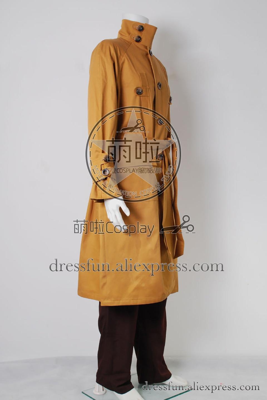 Blade Runner Rick Deckard Trench Coat Cosplay Costume Halloween tailored