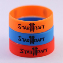 DZ1102 new StarCraft race Terran Protoss Zerg rubber Wristband Bracelets 3colors