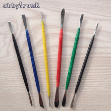 Abbyfrank 6Pcs/Set Fimo Polymer Clay Tools by Hand DIY Sculpture Toys Professional Oven-baked Clay Steel Carving Plasticine Tool(China)