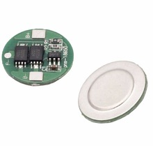 2 PCS Dual MOS Battery Protection Board for 18650 Lithium Battery