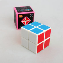 2 * 2 Magic Cube Professional Shengshou Speed Cubo Square Puzzle Matte Sticker Twist Educational Toy for Children  1081