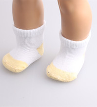 "Free shipping!!!Hot 2016 new style popular "" American girl doll Sockb499(China)"
