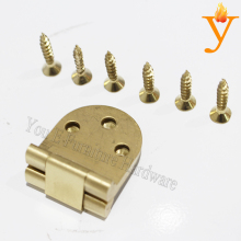 10PCS 2.5mm hidden connector table folding Brass Hinge with Brass screw Furniture hardware D44
