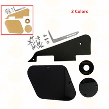 NEW Platic Guitar Pickguard Cavity Cover Switch Plate Bracket Screws 5 in 1 Set For LP Guitar(China)