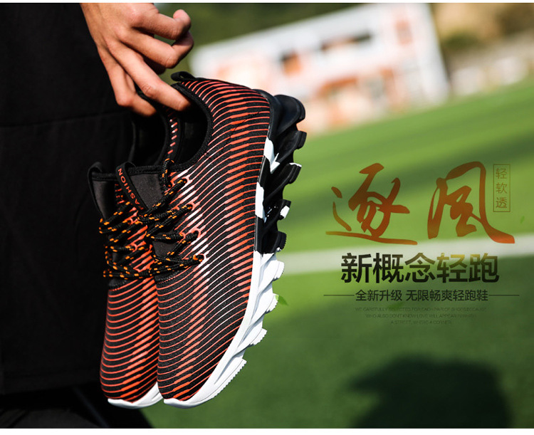17New Hot Light Running Shoes For Men Breathable Outdoor Sport Shoes Summer Cushioning Male Shockproof Sole Athletic Sneakers 19