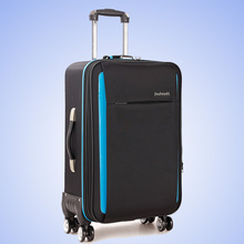 New Fashion Cheap Oxford 28 inch Rolling Luggage Men Business Trolley Spinner Trunk 20 inch Boarding Box Travel Bag Suitcase(China)
