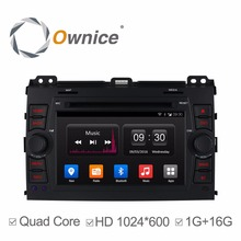 Ownice C300 Quad Core Android 4.4 Car DVD Player Fit for TOYOTA PRADO Land Cruiser 2002-2009 Support GPS 3G Radio BT RDS IPOD