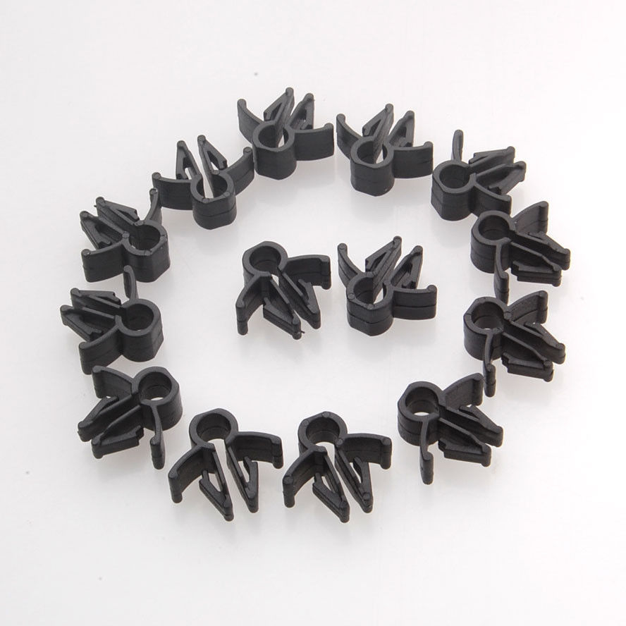 BBQ FUKA 15x Wire font b Cable b font Loom Routing Harness Nylon font b Clip online buy wholesale cable retainer clip from china cable retainer Spring Steel Clips Catalog at crackthecode.co