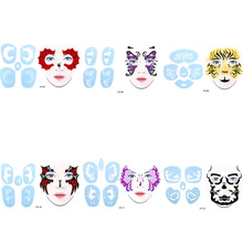 buy face painting stencil and get free shipping on aliexpress com