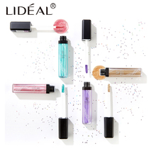 LIDEAL 12Colors Eye Shadow Professional Eyes Makeup Glitter Single Color liquid Eyeshadow Gel Party Brand Cosmetics Flash Powder(China)
