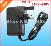 High Quality 50pcs/Lot AC 100-240V to DC 12V 1A 9A 1A 5V 1A Power Adapter Supply Charger 5V 2A adaptor UK Plug wholesale(China)