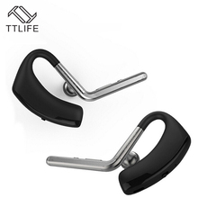 TTLIFE Fashion Design Handsfree Bluetooth Earphone Wireless Earphone With Mic Active Noise Cancelling Earbuds VS Remax(China)