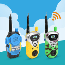 2pcs/Lot Remote Wireless Call plastic Electric Walkie-talkie Toys children Boys Girls Brithday Christmas Gift toy