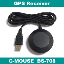 GPS receiver,USB GPS receiver module antenna,laptop,BS-708,replace BU-353S4 BU353S4(China)