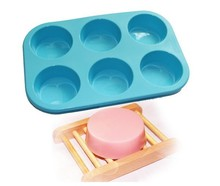 Round Circles Soap Silicone Mold Chocolate Jelly Cupcake Baking Mould