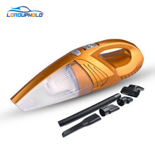 High Power DC 12V 120W Car Mini Hand Vacuum Cleaner With HEPA Filter With Inflator Accessories(China)